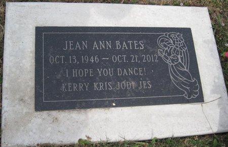 BATES, JEAN ANN - Champaign County, Illinois   JEAN ANN BATES - Illinois Gravestone Photos