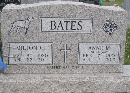 BATES, MILTON C. - Champaign County, Illinois | MILTON C. BATES - Illinois Gravestone Photos