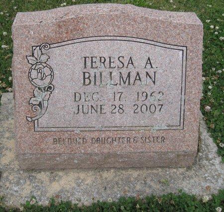 BILLMAN, TERESA A. - Champaign County, Illinois   TERESA A. BILLMAN - Illinois Gravestone Photos