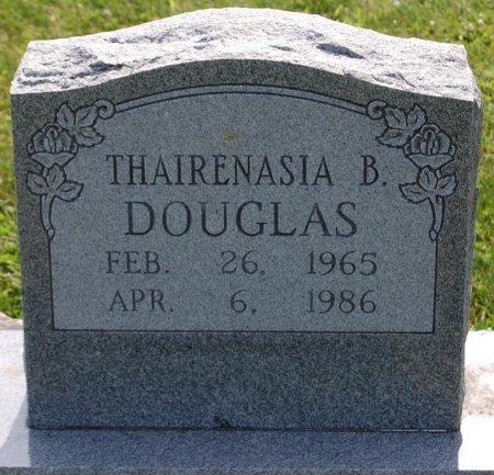 DOUGLAS, THAIRENASIA B. - Champaign County, Illinois | THAIRENASIA B. DOUGLAS - Illinois Gravestone Photos