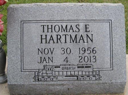 HARTMAN, THOMAS EUGENE - Champaign County, Illinois | THOMAS EUGENE HARTMAN - Illinois Gravestone Photos