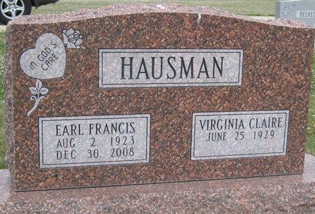 HAUSMANN, VIRGINIA - Champaign County, Illinois | VIRGINIA HAUSMANN - Illinois Gravestone Photos