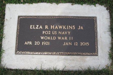 HAWKINS, JR., ELZA RAY - Champaign County, Illinois | ELZA RAY HAWKINS, JR. - Illinois Gravestone Photos