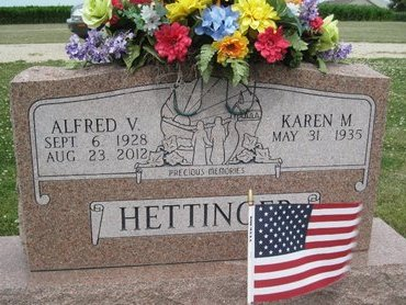 HETTINGER, ALFRED V. - Champaign County, Illinois | ALFRED V. HETTINGER - Illinois Gravestone Photos
