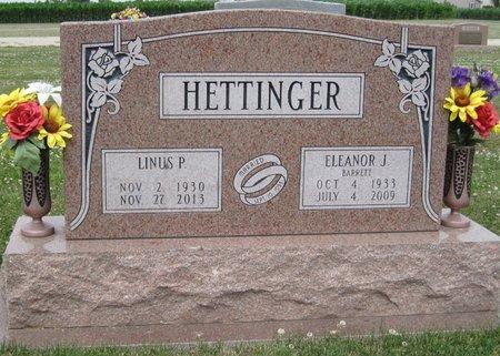 BARRETT HETTINGER, ELEANOR JANE - Champaign County, Illinois | ELEANOR JANE BARRETT HETTINGER - Illinois Gravestone Photos