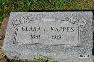 KAPPES, CLARA L - Champaign County, Illinois | CLARA L KAPPES - Illinois Gravestone Photos