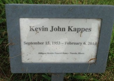 KAPPES, KEVIN JOHN - Champaign County, Illinois   KEVIN JOHN KAPPES - Illinois Gravestone Photos