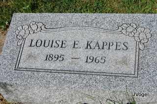KAPPES, LOUISE E. - Champaign County, Illinois | LOUISE E. KAPPES - Illinois Gravestone Photos