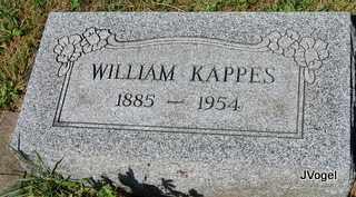 KAPPES, WILLIAM - Champaign County, Illinois   WILLIAM KAPPES - Illinois Gravestone Photos