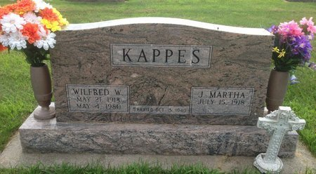KAPPES, WILFRED WILLIAM - Champaign County, Illinois | WILFRED WILLIAM KAPPES - Illinois Gravestone Photos