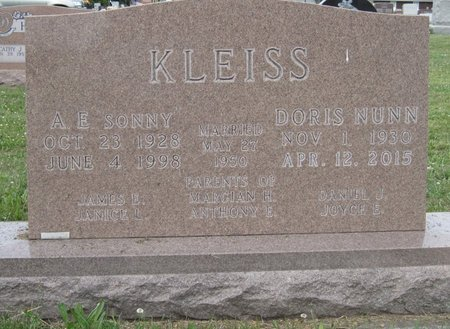 KLEISS, DORIS JOY - Champaign County, Illinois | DORIS JOY KLEISS - Illinois Gravestone Photos