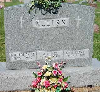 KLEISS, MARY 'ETHEL' - Champaign County, Illinois   MARY 'ETHEL' KLEISS - Illinois Gravestone Photos
