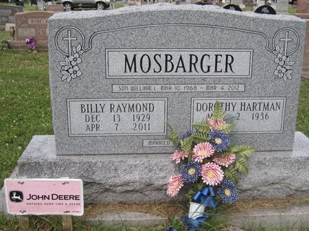 MOSBARGER, BILLY RAYMOND - Champaign County, Illinois | BILLY RAYMOND MOSBARGER - Illinois Gravestone Photos