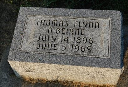 O'BEIRNE, THOMAS FLYNN - Champaign County, Illinois | THOMAS FLYNN O'BEIRNE - Illinois Gravestone Photos