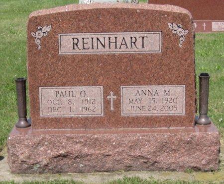 REINHART, ANNA MARIE - Champaign County, Illinois | ANNA MARIE REINHART - Illinois Gravestone Photos