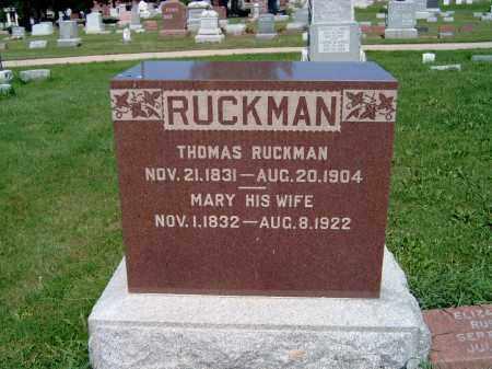 O'BRIEN RUCKMAN, MARY - Champaign County, Illinois | MARY O'BRIEN RUCKMAN - Illinois Gravestone Photos
