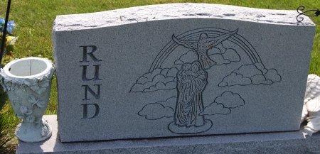 RUND, FAMILY BACK - Champaign County, Illinois | FAMILY BACK RUND - Illinois Gravestone Photos
