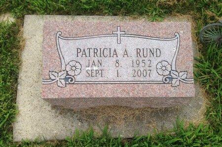 RUND, PATRICIA ANN - Champaign County, Illinois | PATRICIA ANN RUND - Illinois Gravestone Photos