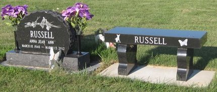RUSSELL, FAMILY PLOT - Champaign County, Illinois   FAMILY PLOT RUSSELL - Illinois Gravestone Photos