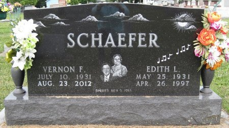 SCHAEFER, EDITH L. - Champaign County, Illinois | EDITH L. SCHAEFER - Illinois Gravestone Photos