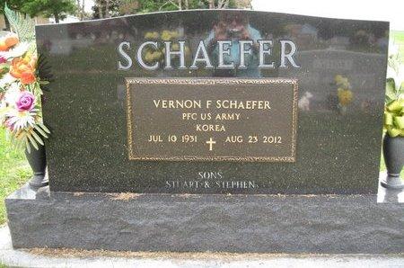 SCHAEFFER, VERNON F. - Champaign County, Illinois | VERNON F. SCHAEFFER - Illinois Gravestone Photos