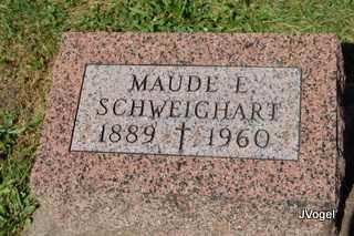 BARGER SCHWEIGHART, MAUDE ESTELL - Champaign County, Illinois | MAUDE ESTELL BARGER SCHWEIGHART - Illinois Gravestone Photos