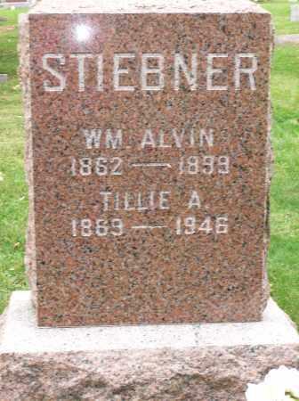 STIEBNER, WILLIAM ALVIN - Champaign County, Illinois | WILLIAM ALVIN STIEBNER - Illinois Gravestone Photos
