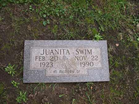 SWIM, JUANITA - Champaign County, Illinois | JUANITA SWIM - Illinois Gravestone Photos