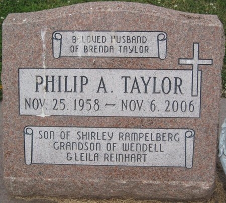 TAYLOR, PHILIP A. - Champaign County, Illinois | PHILIP A. TAYLOR - Illinois Gravestone Photos