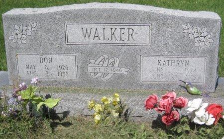 WALKER, DON - Champaign County, Illinois | DON WALKER - Illinois Gravestone Photos