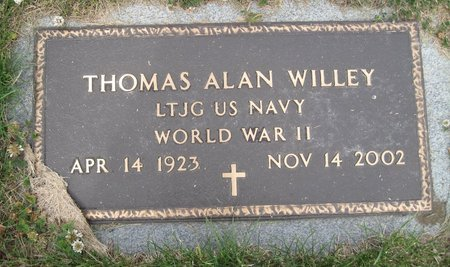 WILLEY, THOMAS ALAN - Champaign County, Illinois | THOMAS ALAN WILLEY - Illinois Gravestone Photos
