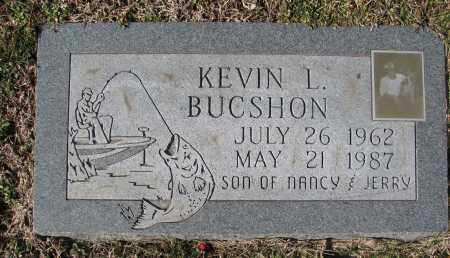 BUCSHON, KEVIN LYNN - Christian County, Illinois | KEVIN LYNN BUCSHON - Illinois Gravestone Photos