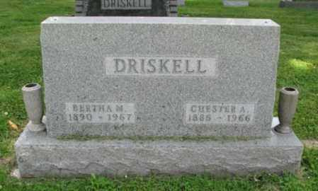 DRISKELL, CHESTER A. - Christian County, Illinois | CHESTER A. DRISKELL - Illinois Gravestone Photos
