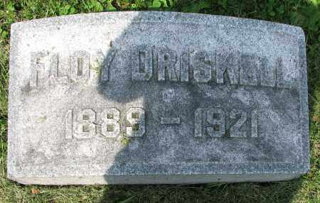 DRISKELL, FLOY - Christian County, Illinois | FLOY DRISKELL - Illinois Gravestone Photos