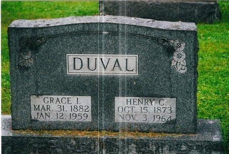 EBERT DUVAL, GRACE - Christian County, Illinois | GRACE EBERT DUVAL - Illinois Gravestone Photos