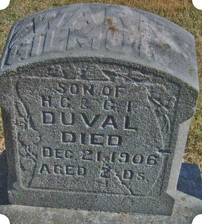 DUVAL, WARN - Christian County, Illinois | WARN DUVAL - Illinois Gravestone Photos