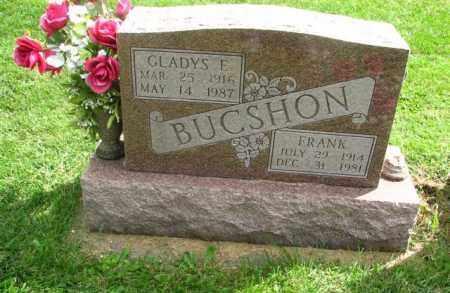 SMITH GLADYS E., BUCSHON - Christian County, Illinois | BUCSHON SMITH GLADYS E. - Illinois Gravestone Photos