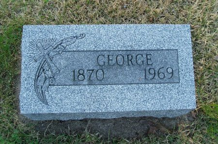 GRUBER, GEORGE - Christian County, Illinois | GEORGE GRUBER - Illinois Gravestone Photos
