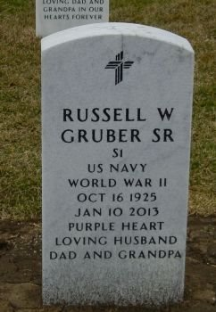 GRUBER, RUSSELL - Christian County, Illinois | RUSSELL GRUBER - Illinois Gravestone Photos