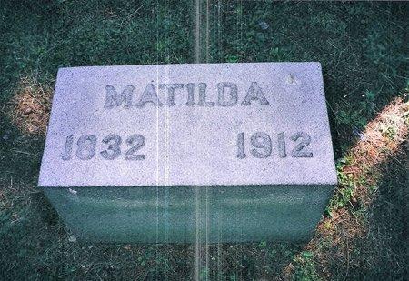 JOHNSON, MATILDA - Christian County, Illinois | MATILDA JOHNSON - Illinois Gravestone Photos