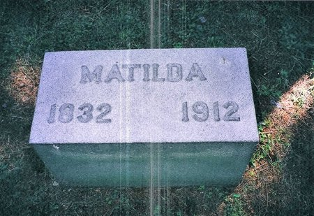 BAKER JOHNSON, MATILDA - Christian County, Illinois | MATILDA BAKER JOHNSON - Illinois Gravestone Photos