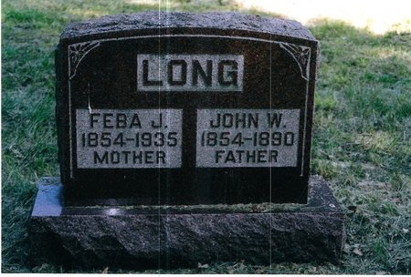 LONG, JOHN - Christian County, Illinois | JOHN LONG - Illinois Gravestone Photos