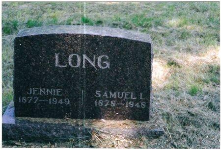 LONG, JENNIE - Christian County, Illinois | JENNIE LONG - Illinois Gravestone Photos