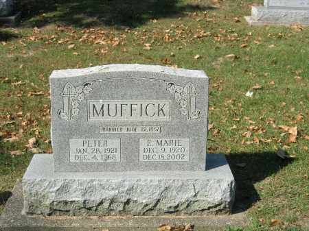 MUFFICK, ELLEN MARIE - Christian County, Illinois | ELLEN MARIE MUFFICK - Illinois Gravestone Photos