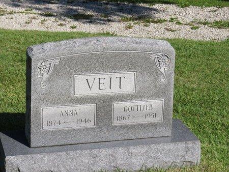 VEIT, GOTTLIEB - Christian County, Illinois | GOTTLIEB VEIT - Illinois Gravestone Photos