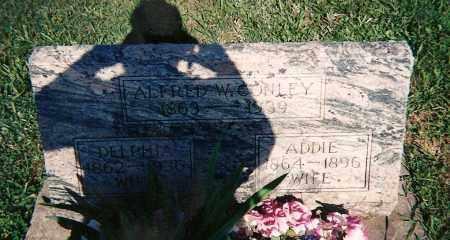 CONLEY, ALFRED W - Clay County, Illinois | ALFRED W CONLEY - Illinois Gravestone Photos