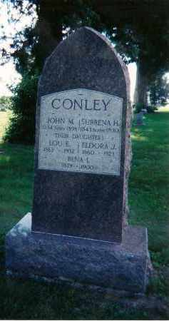 CONLEY, SURRENA H - Clay County, Illinois | SURRENA H CONLEY - Illinois Gravestone Photos