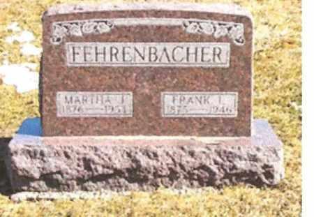 FEHRENBACHER, MARTHA JANE - Clay County, Illinois | MARTHA JANE FEHRENBACHER - Illinois Gravestone Photos