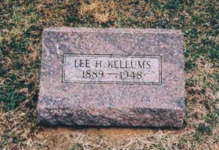 KELLUMS, LEE H. - Clay County, Illinois | LEE H. KELLUMS - Illinois Gravestone Photos