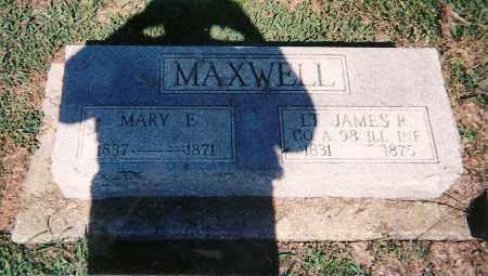 MAXWELL, LT. JAMES P - Clay County, Illinois | LT. JAMES P MAXWELL - Illinois Gravestone Photos
